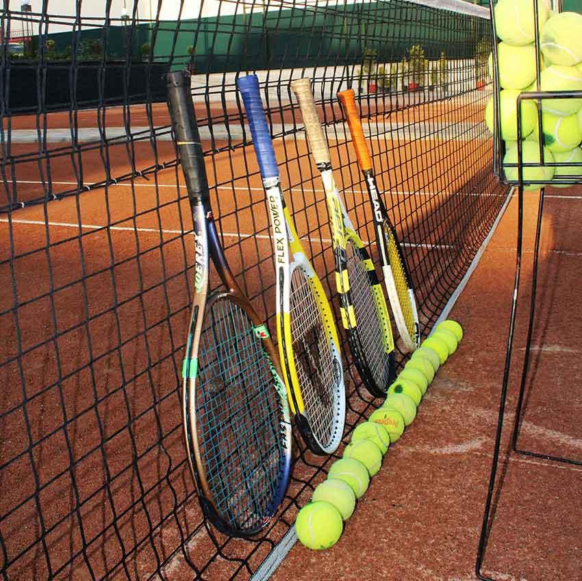 امکانات تنیس